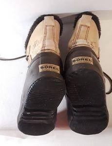 Sorel Shoes - Sorel Kaufman Size 7 Winter Duck Boots - Vintage